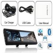 4-3-Inch-Achteruitkijkspiegel-Spiegel-Auto-navigatie-GPS-systeem Bluetooth-Auto-Camera-AV-In